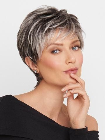 salt and pepper short hairstyles for women over 50 pin on short shaggy or pixieish haircuts
