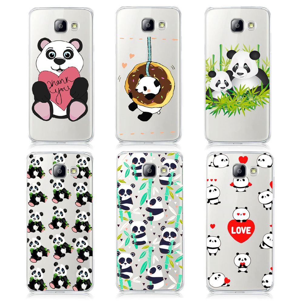 Super Cute Cartoon Animal Panda Cases For Samsung Galaxy A3 A5 A7 J1 J5 J7 2016 Hard Pc Protective Smartphone Back Cover Shell Phone Cases Case Its My Birthday