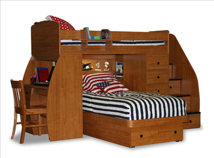 Sierra Twin Space Saver Loft Bed