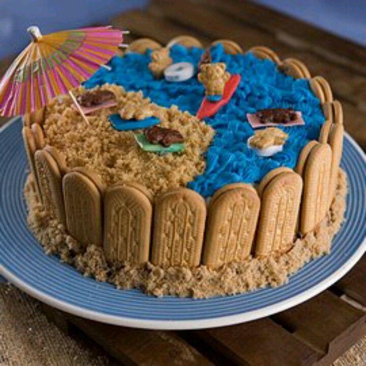 Easy ice cream beach cake ice cream cake cake recipes