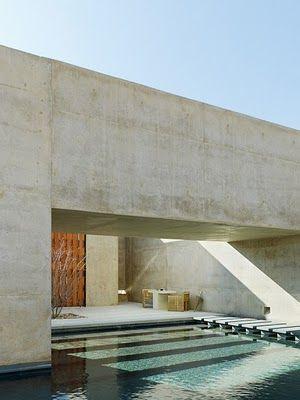 Amangiri - Utah. Architects Rick Joy with Marwan Al-Sayed and Wendell Burnette (via Gau Paris):