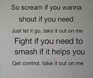 Take It Out On Me By Tfk Band Quotes Life Lyrics Thousand Foot Krutch