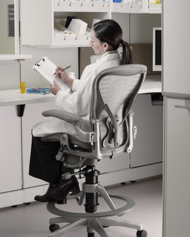 Herman Miller Aeron® Stool   Build Your Own Aeron® Stool   Counter And Bar