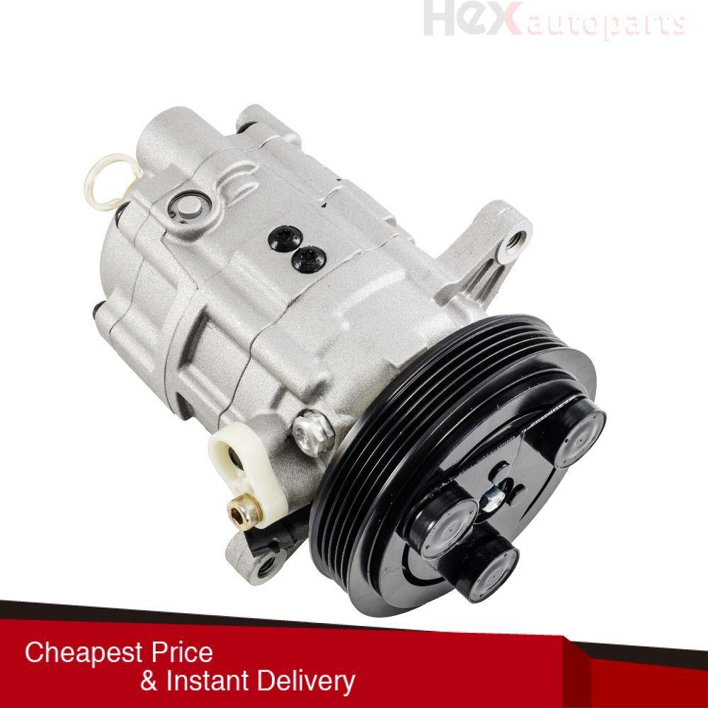 Hex Autoparts Ac A C Compressor Fits 1999 2002 Saturn Sc1 Sc2 Sl1 Sl2 Sw 1 9l Air Conditioner Compressor Compressor Car Air Conditioning