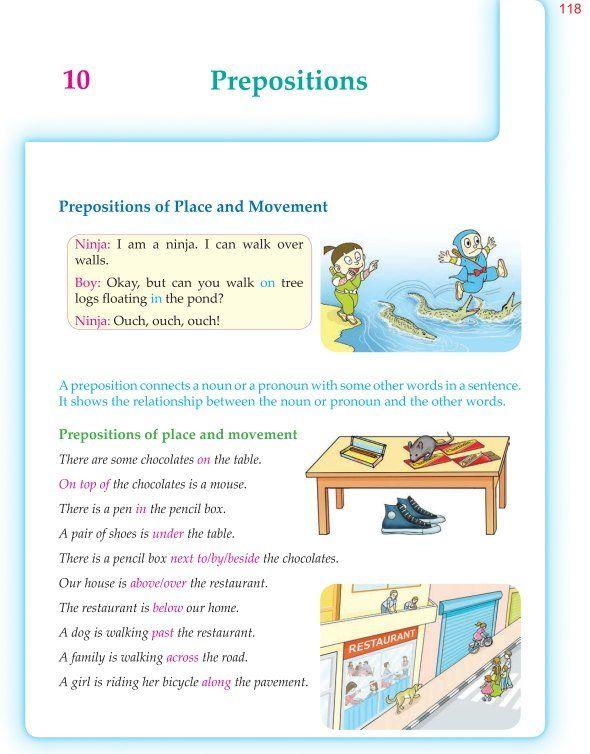 6th Grade Grammar Prepositions Teaching English Grammar English Lessons Learn English Grammar Preposition worksheets 6th grade