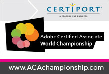 Adobe Certified Associate World Championship Certificate