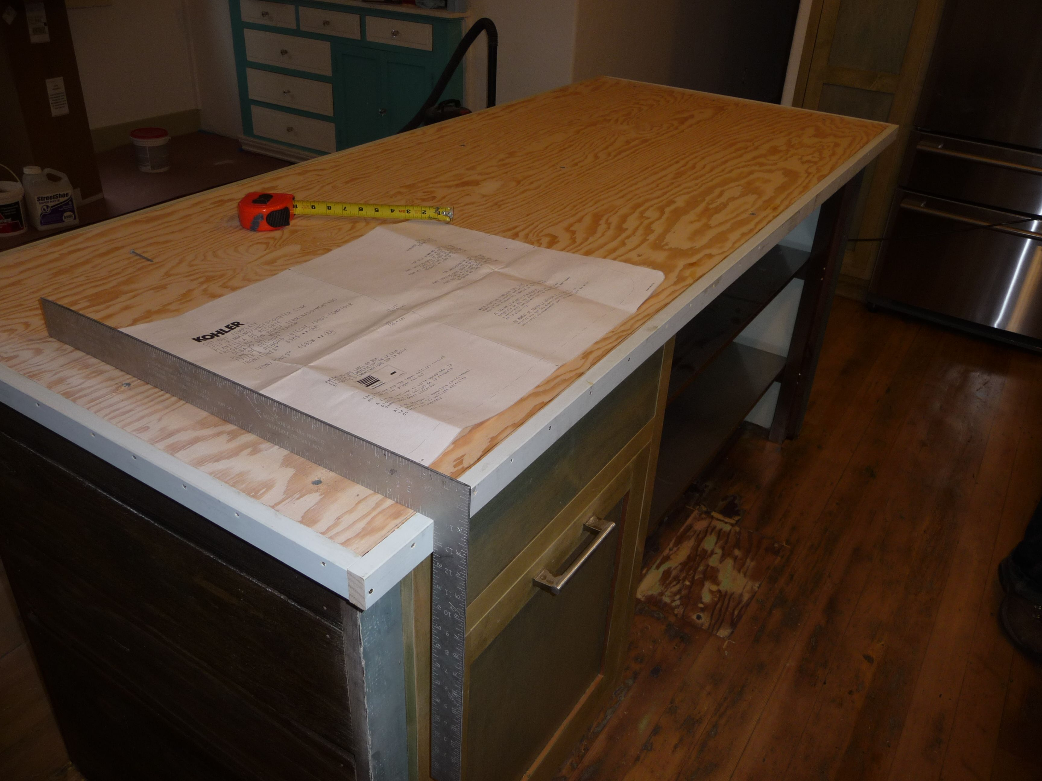 Charmant DIY Zinc Countertops Screw Paying $150 A Square Foot