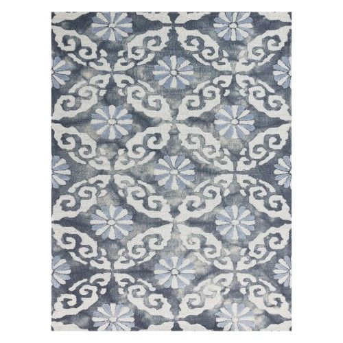 Amer Rugs Kanoka Indoor Area Rug As Shown Blue Area