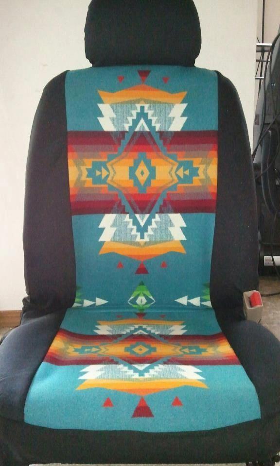 Native American Design Car Seat Covers