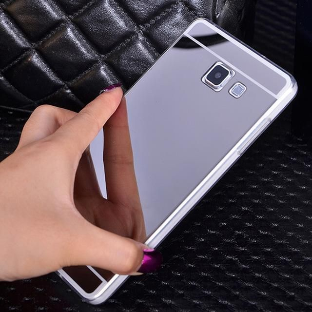 Gold Mirror Soft Back Shell Cover For Samsung Galaxy J1 J2 A3 A5 A7 J3 J5  J7 2015 2016 2017 Grand Prime J5 J7 Prime Case d5f9921d1f06