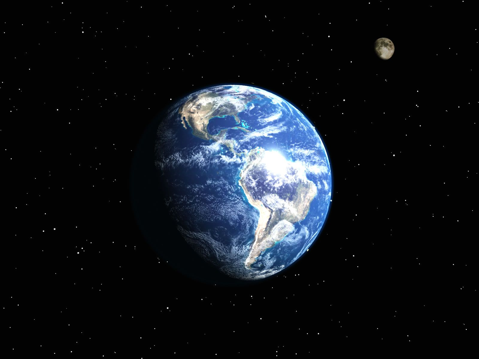 3d earth and moon wallpaper | planets gif | pinterest | earth and cosmos