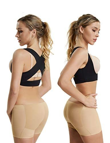 e8fc6cb294 Chest Brace Up for Women Posture Corrector Shapewear Tops Breast Support Bra  Top X Strap Bras