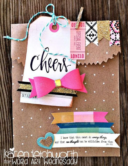 My Cup Runneth Over: Crate Paper Confetti