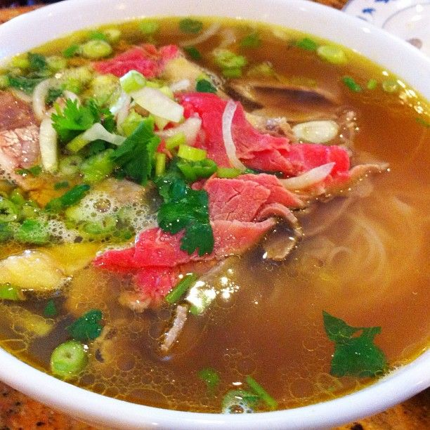 #vietnamese lunch. #Pho. Beef. Tan Dinh. #westbank #igersneworleans