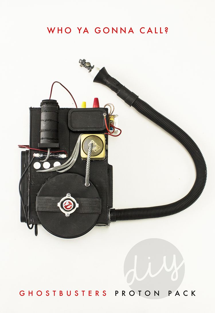 diy ghostbusters proton pack dys ghostbusters kost m. Black Bedroom Furniture Sets. Home Design Ideas