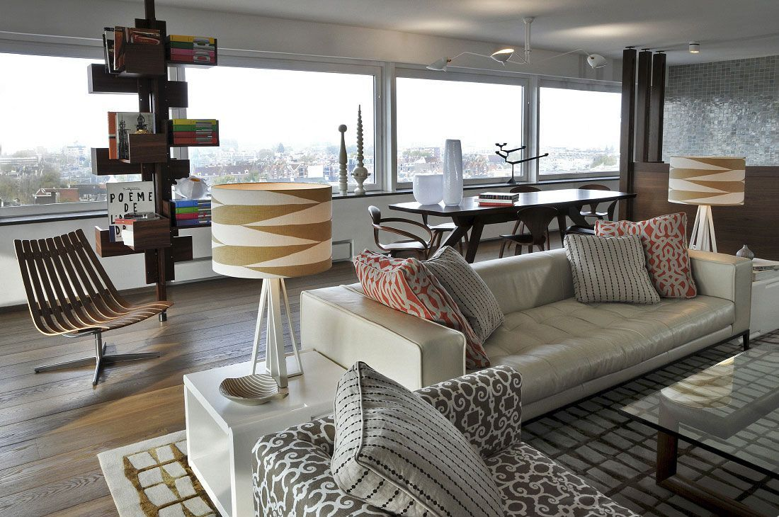 Kate hume interiors project: penthouse amsterdam
