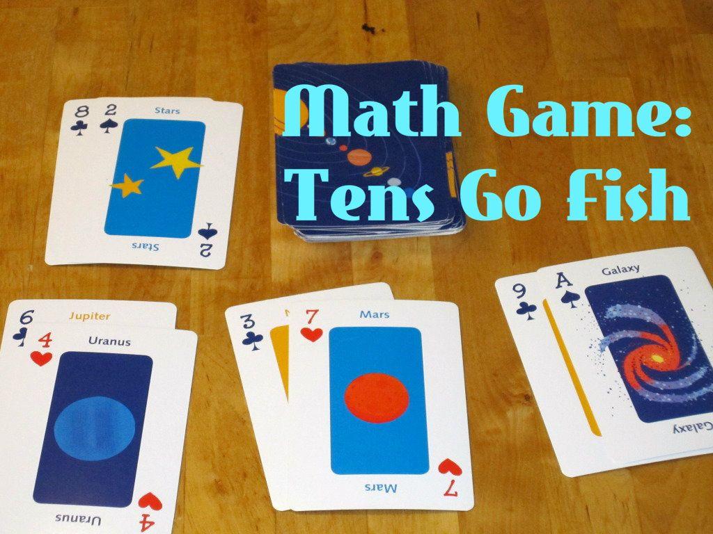 Easy Math Game Tens Go Fish