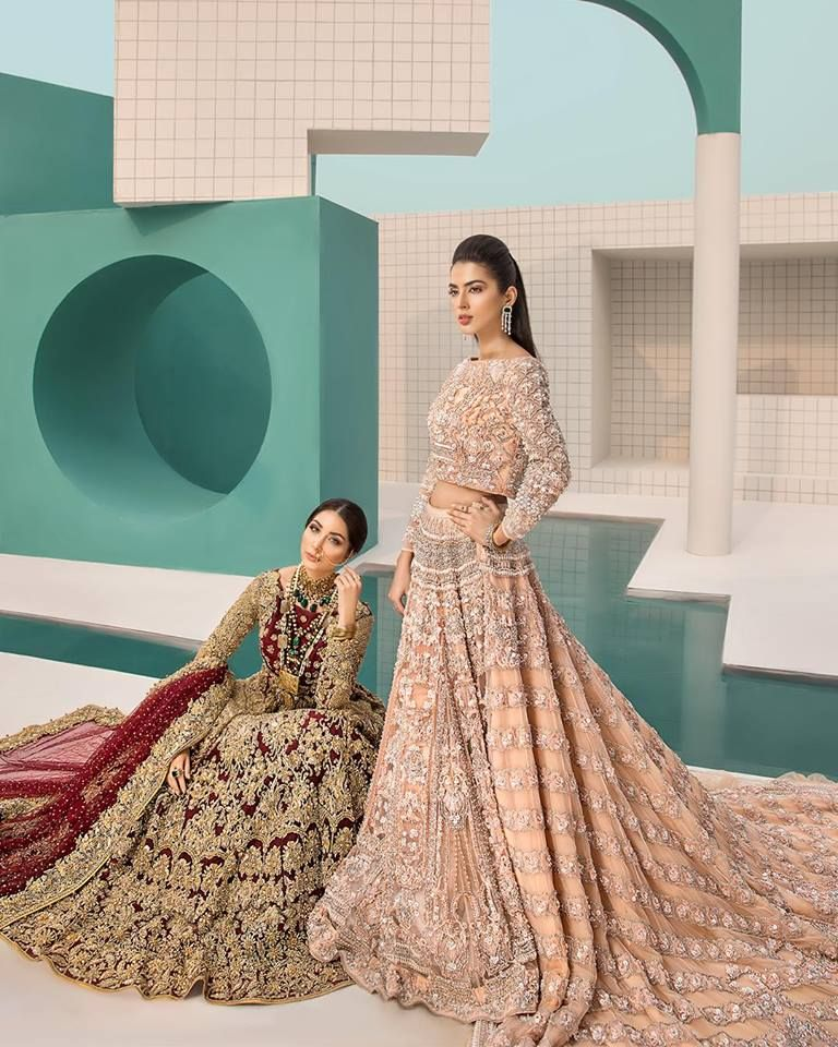 cbd72dd5d51d Erum Khan Bridal Collection #weddingwear #pakistaniweddingdress  #pakistanidress #pakistanistyle #pakistanistylelook #pakistanidesigner ...