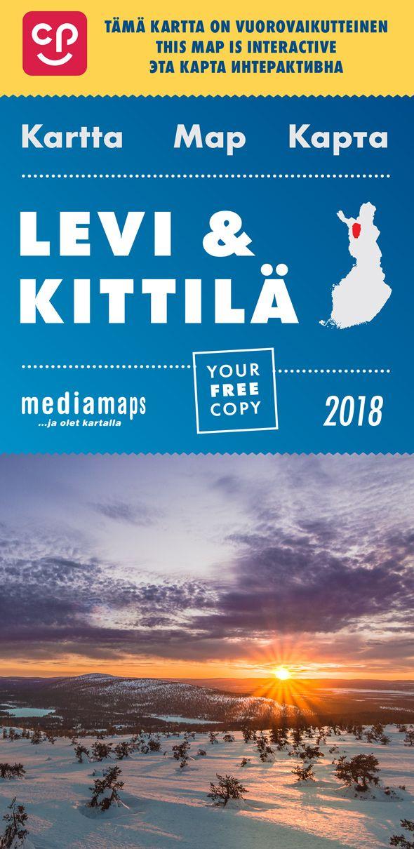 Uusi Mediamapsin Levi Kittila Kartta On Ilmestynyt Kartta