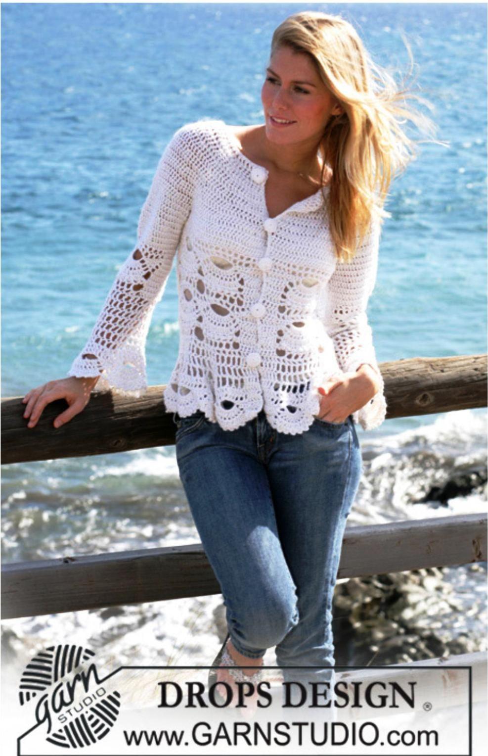zhaket-tunika.jpg (987×1528) | Crochet clothes | Pinterest | Tejido ...