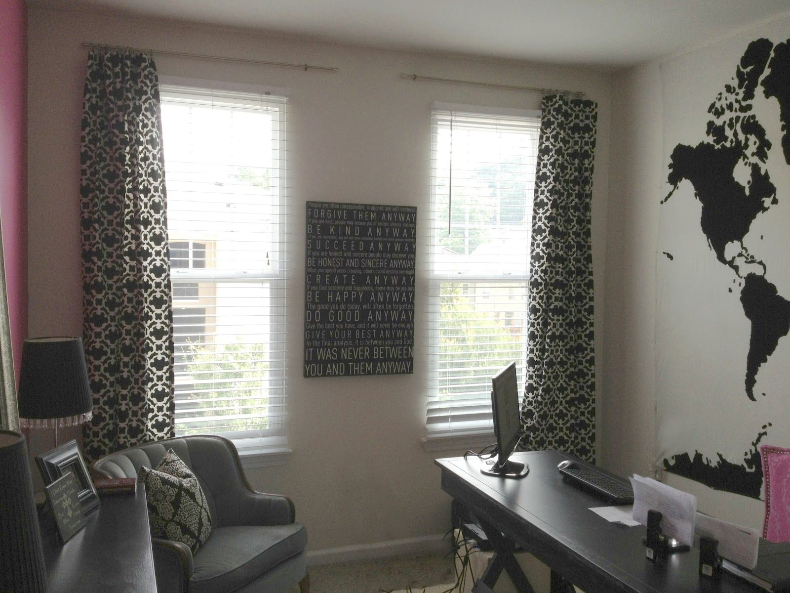 Home Office Curtains Google Search Office Curtains Curtains