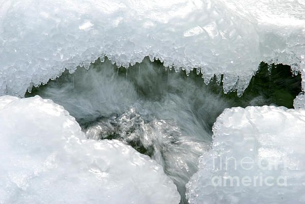 Icy waters, Upper Michigan by: © Michael Ray. 25% discount on all pieces in my fine art gallery. See my home page for discount code. http://fineartamerica.com/profiles/3-michael-ray.html