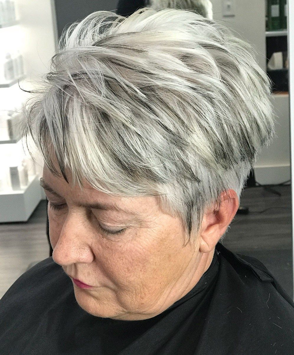 65 Gorgeous Gray Hair Styles Short White Hair Gorgeous Gray Hair White Hair With Lowlights