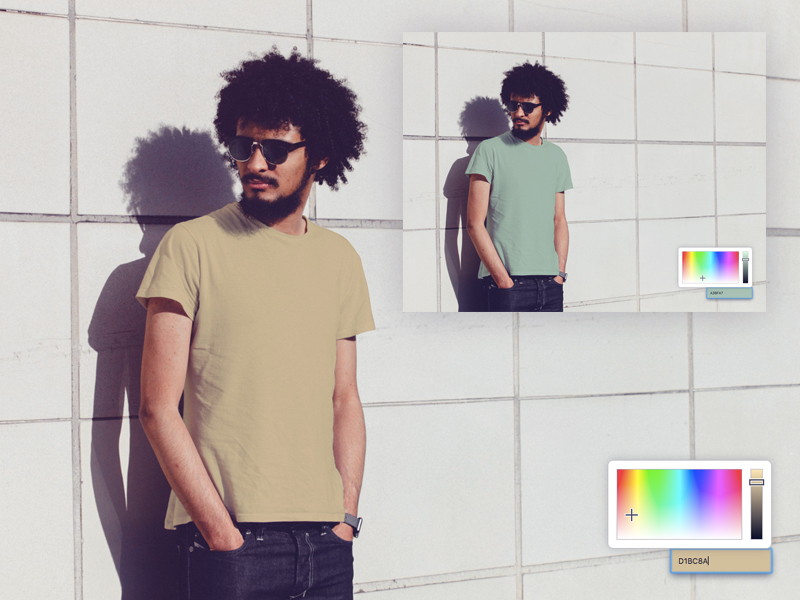 How to Dynamically Change the Colors of Product Images