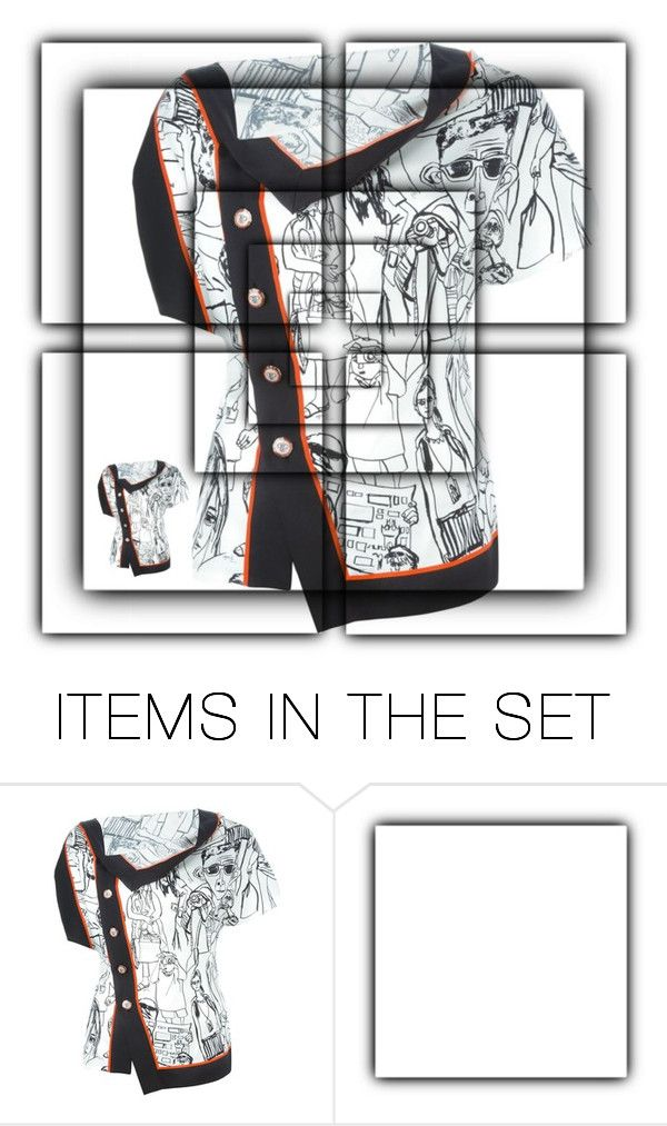 """""""Hanky Top"""" by for-the-art-of-fashion ❤ liked on Polyvore featuring art"""