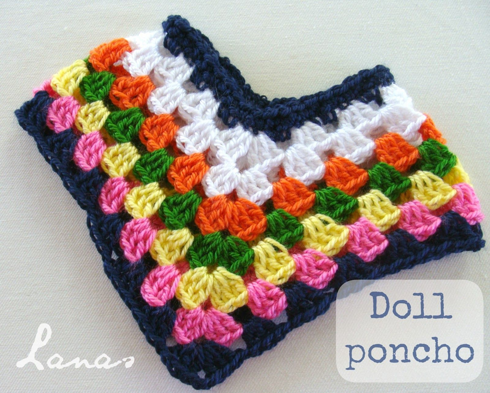 Karen Mom Of Threes Craft Blog A Wonderful Free Poncho Pattern For