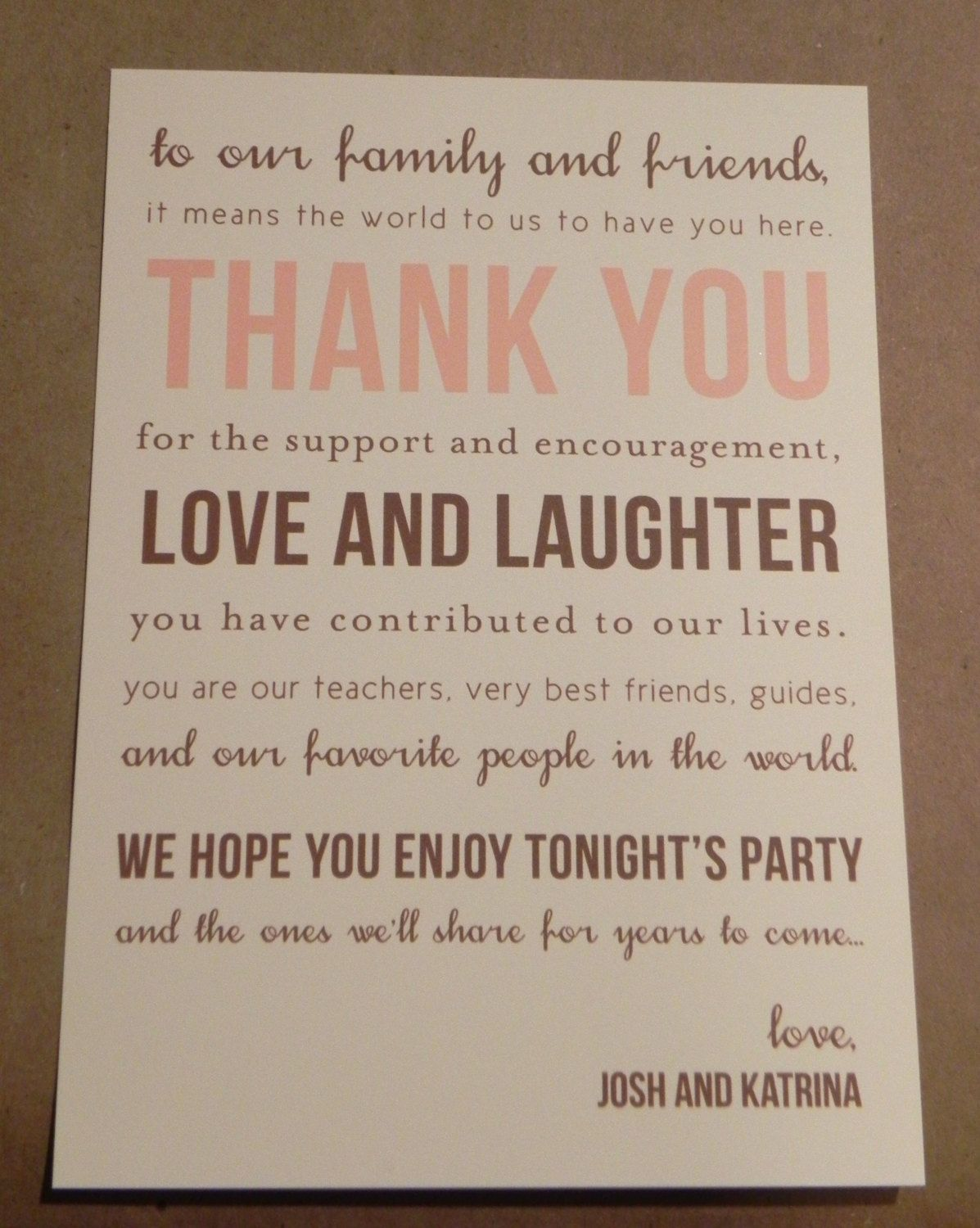 how to do wedding thank you cards