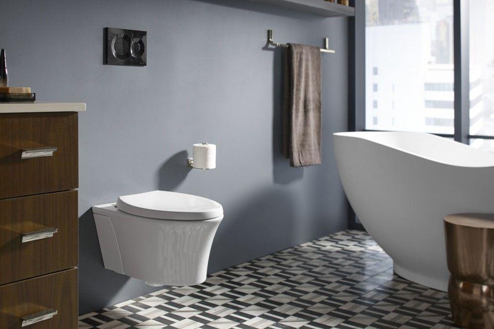 Minimalism Unveiled Bathroom Kohler Ideas Wall Hung Toilet Wall Mounted Toilet Cool Walls