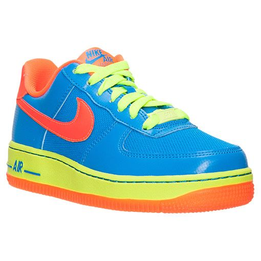 2108c65330a043 Boys  Grade School Nike Air Force 1 Low Casual Shoes - 596728 424 ...