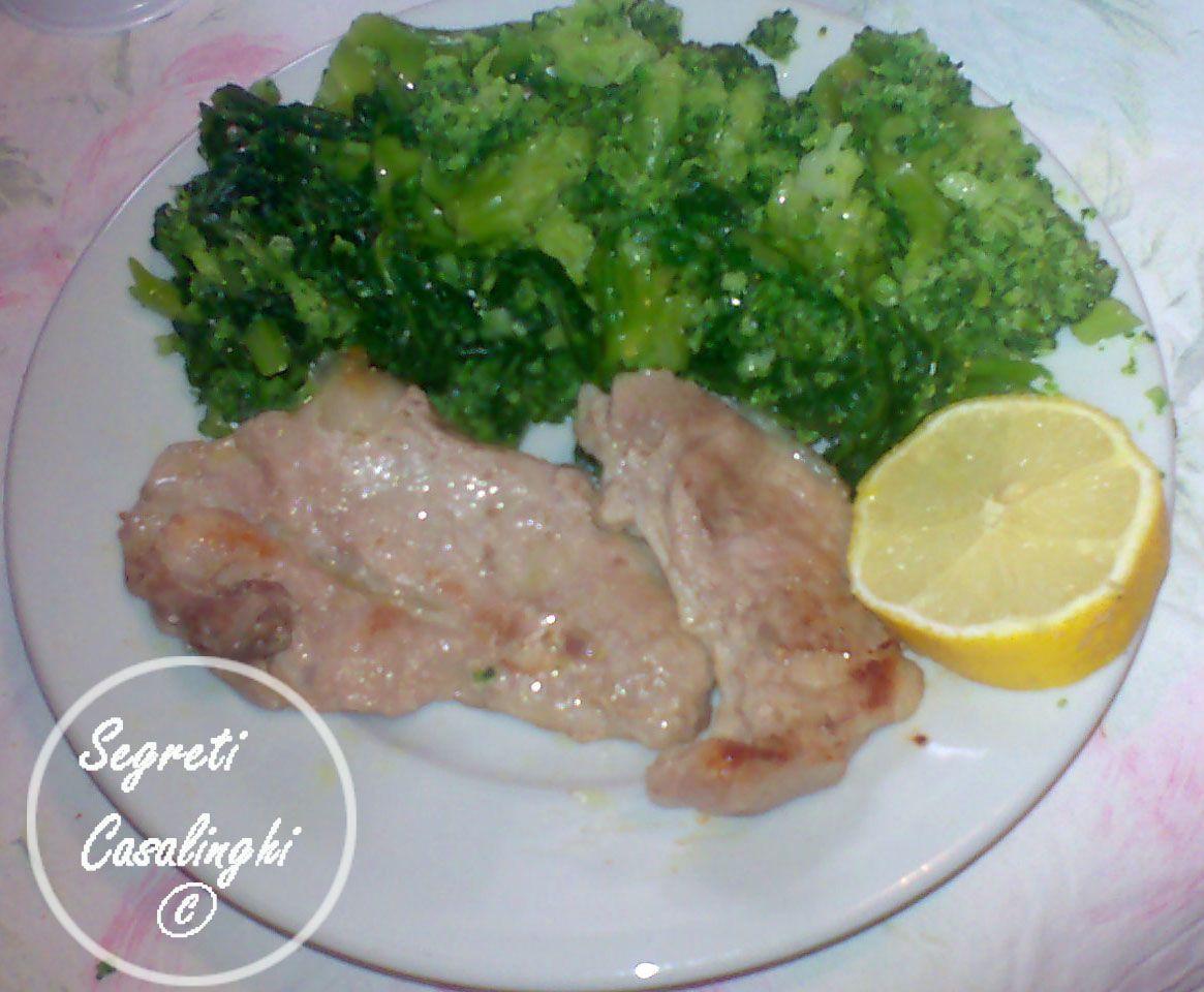 Broccoli romani carne maiale secondo piatto di carne e for Secondi piatti romani