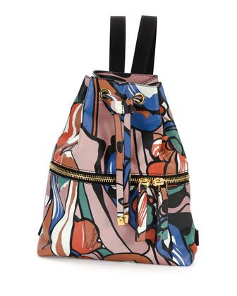 Marni Printed backpack HfUrO