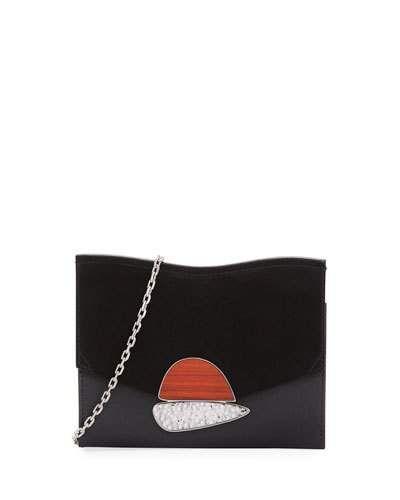 Proenza Schouler Small Curl Leather Suede Clutch Bag Proenzaschouler Bags Shoulder