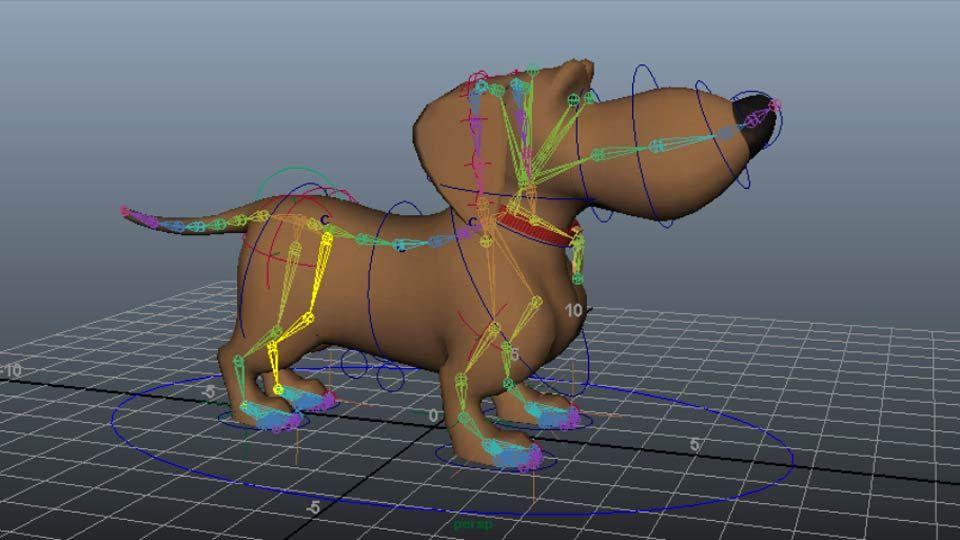 Learn how to rig a four-legged creature (aka a quadruped) in Maya