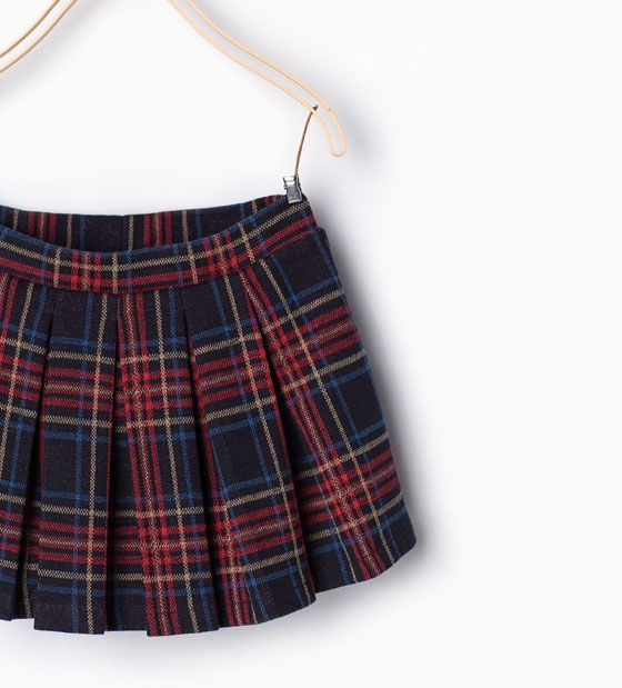 ZARA - NEW IN - Box pleat skirt