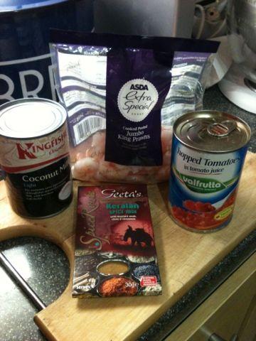 Vicki-Kitchen: King prawn keralan curry (slimming world friendly)