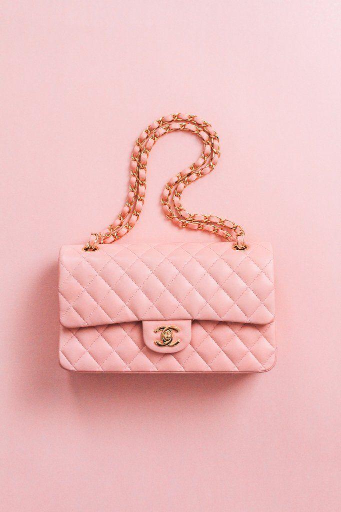 Photo of Chanel 2.55 Pink Lambskin Flap Bag