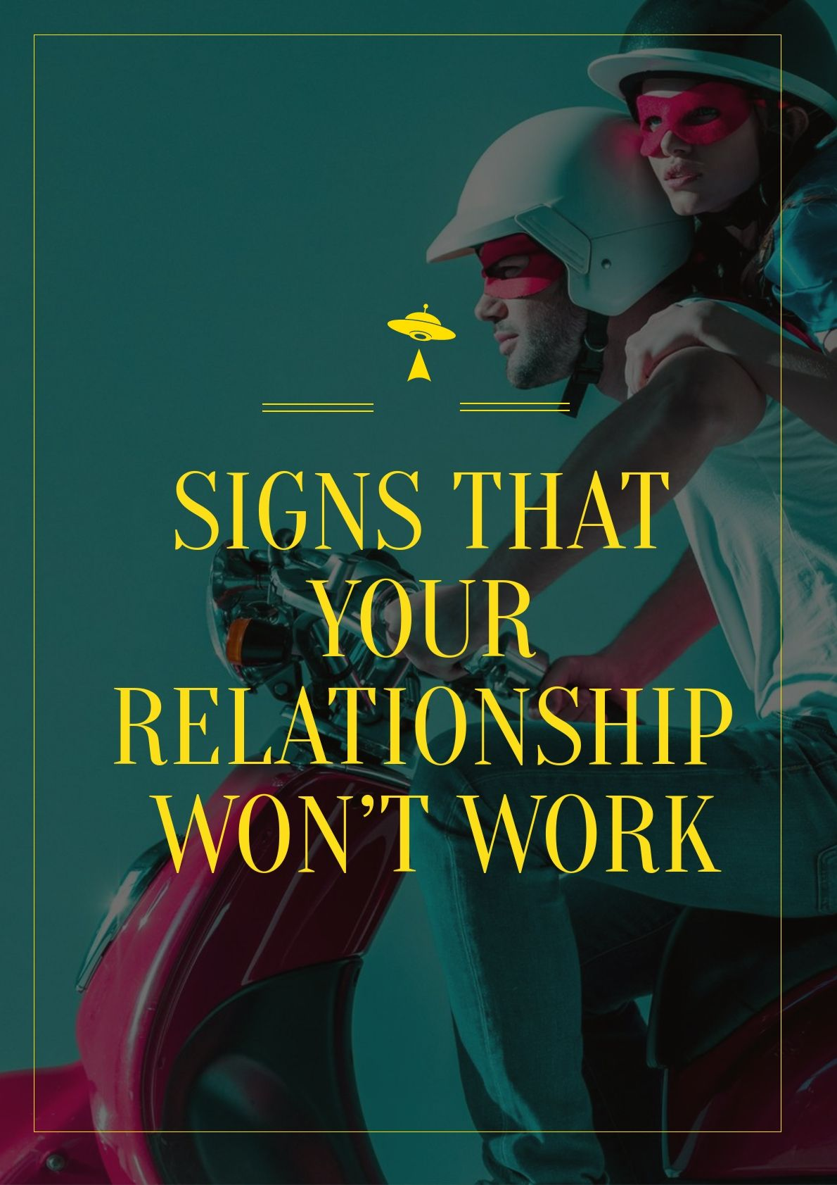 Signs That Your Relationship Wont Work While You Might Have