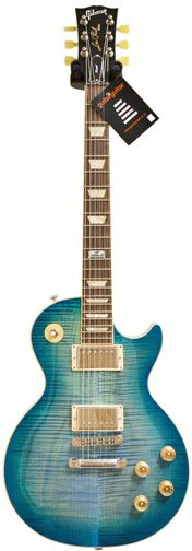 Gibson Les Paul Standard 2014 Ocean Water Perimeter Min-Etune Chrome #140052185