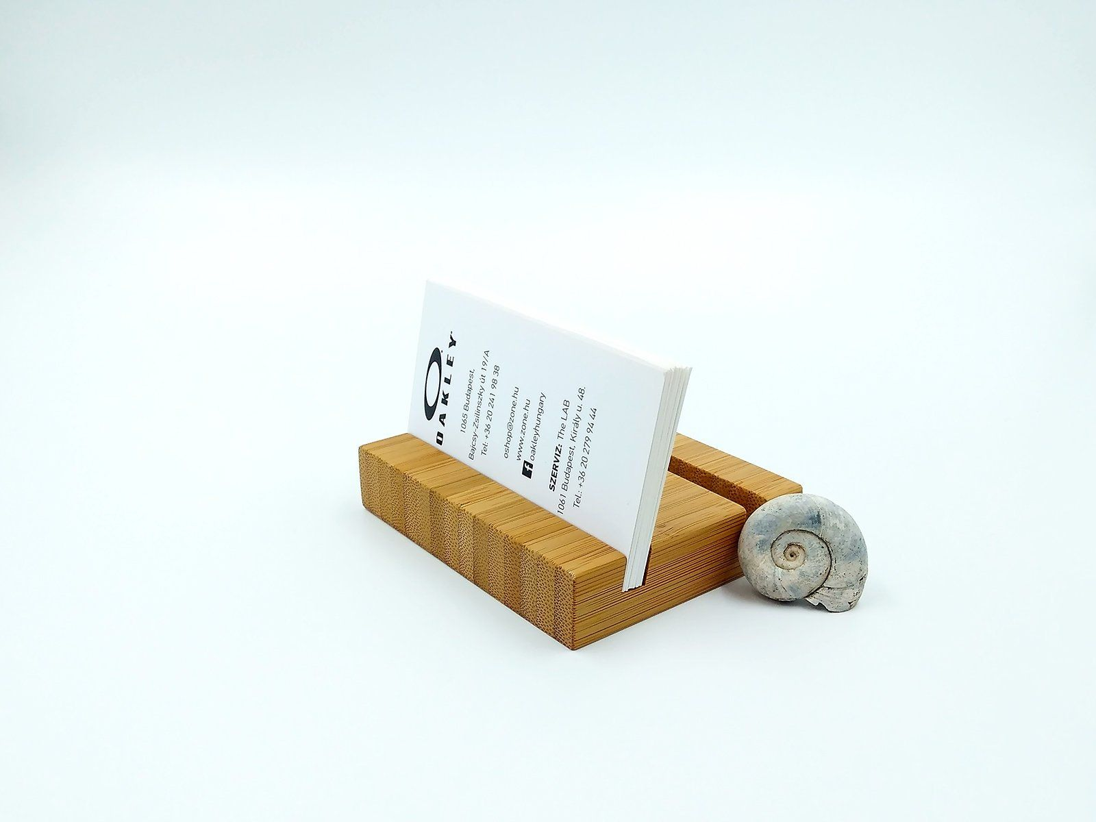 Double Wood Business Card Holder Bamboo Multiple Card Holder Etsy Wood Business Card Holder Wood Business Cards Business Card Stand