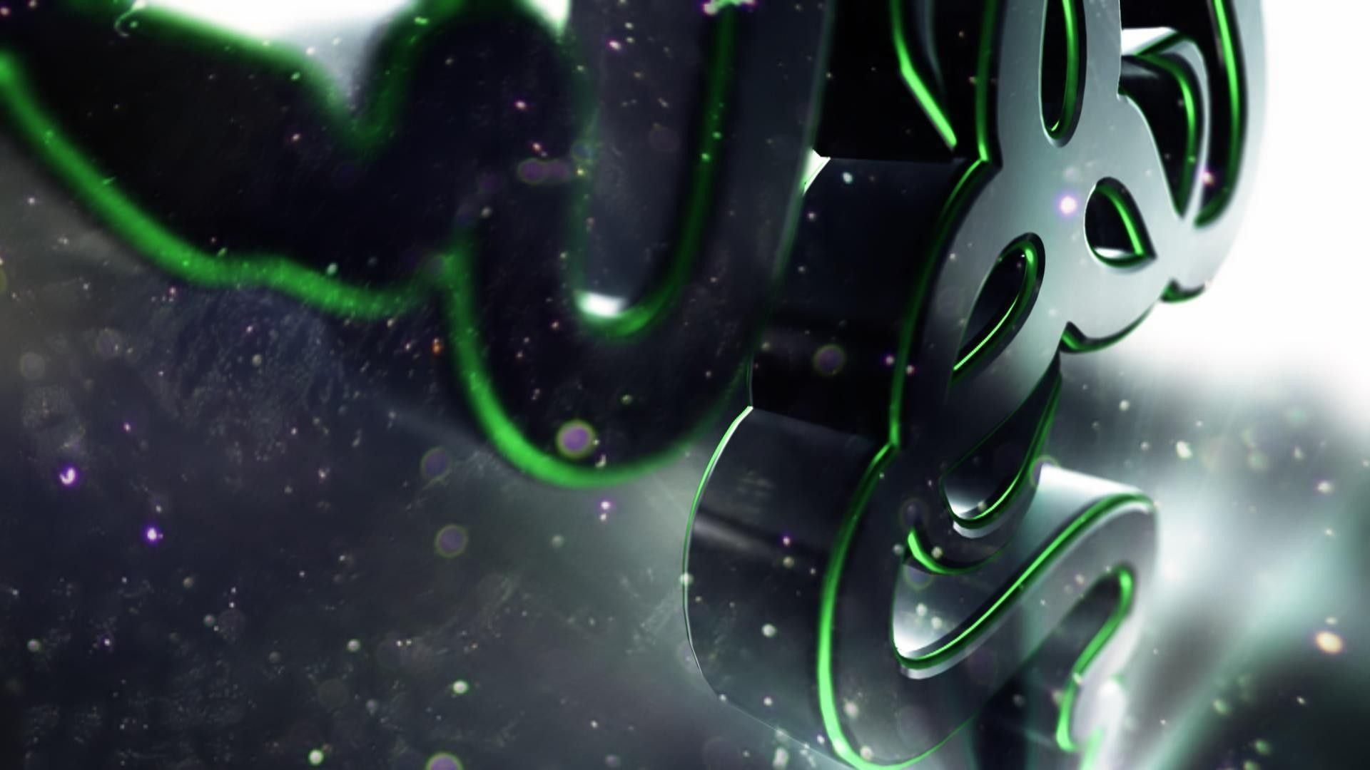 Download Wallpaper 1920x1080 Razer Logo Symbol Shape Full Hd 1080p Hd Background Bilder Hintergrund Kunst