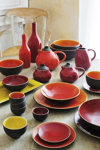 Jars Ceramics Tourron - the Jars dinnerware store & Is your table ready for the holidays? Beautiful ceramic ware from ...