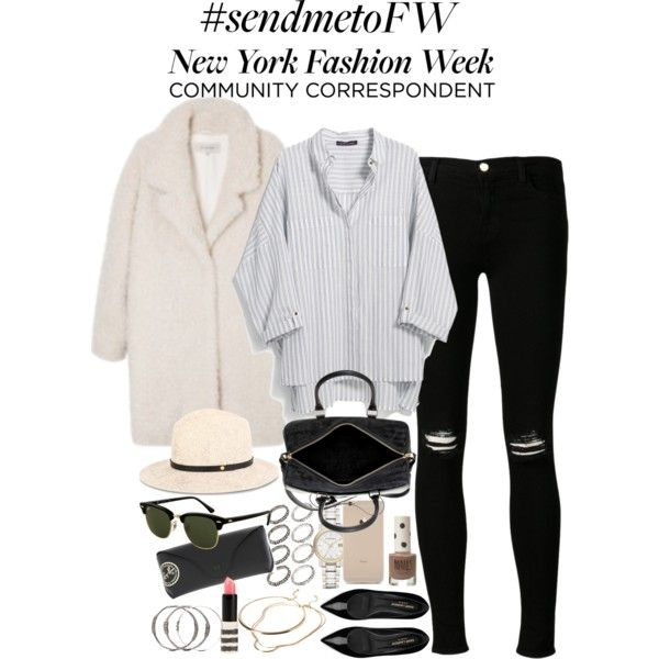 """Inspired outfit for NYFW"" by whathayleywore on Polyvore"