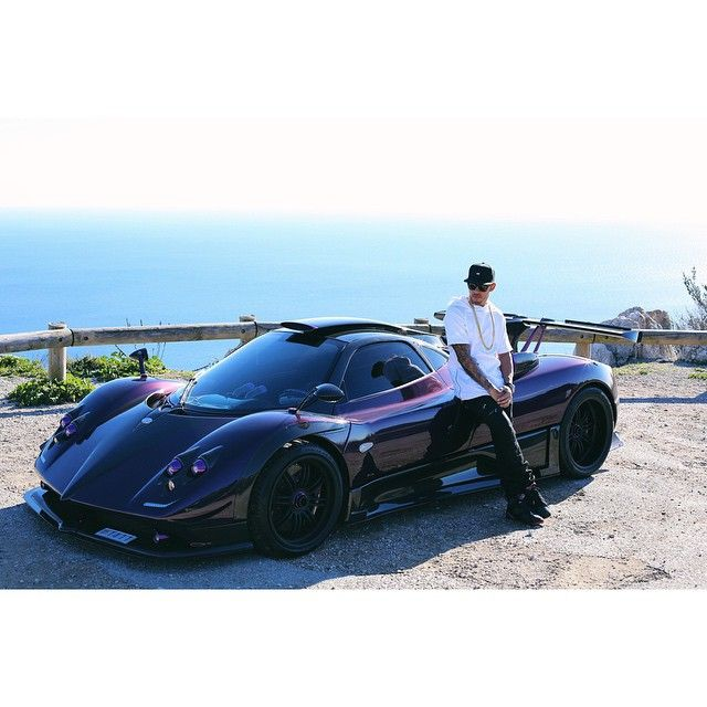Pagani Zonda Lh: F1 Driver Lewis Hamilton And His Purple Pagani Zonda ( He