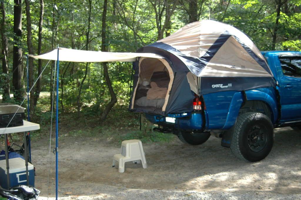 Napier Sportz Truck Tent III vs. The Adventure Truck Tent