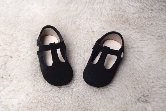 220b66fa51d75 Black T Strap Mary Jane Shoes, Baby Girl Shoes, Toddler Shoes ...