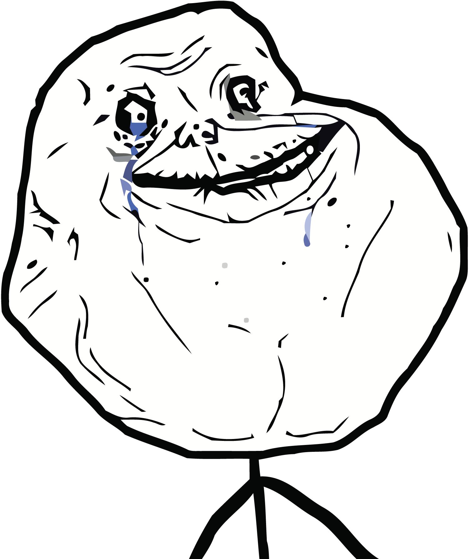Sad forever alone